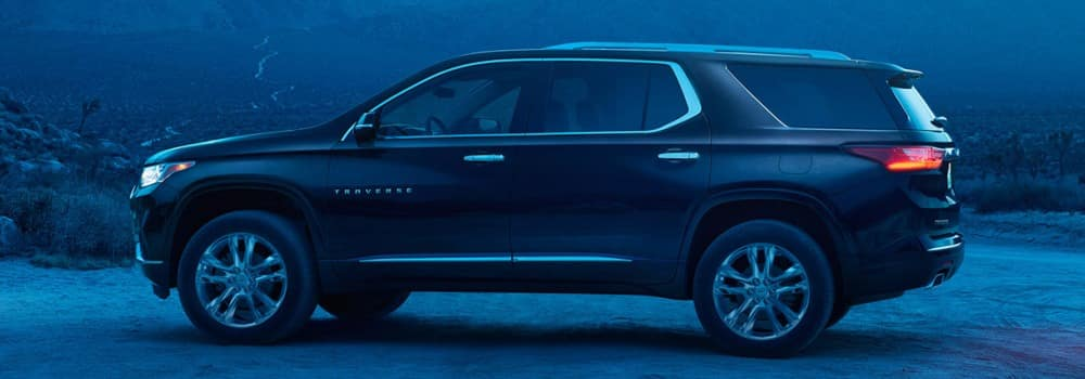 Chevrolet Traverse SUB Features & Technology
