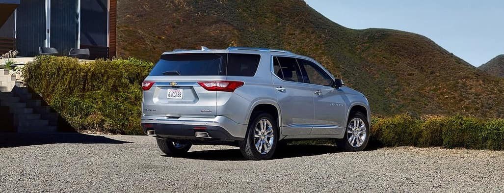 2019 Chevrolet Traverse rear outdoors