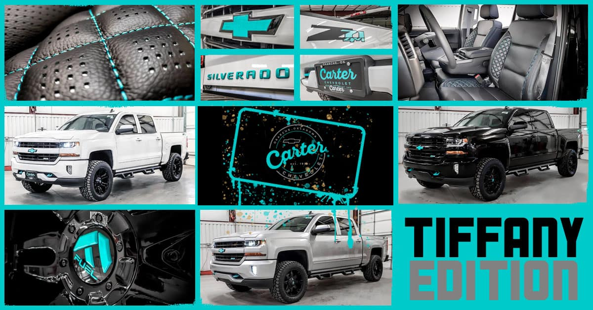 Find Your Tiffany Edition Chevy Carter Chevrolet Okarche Ok