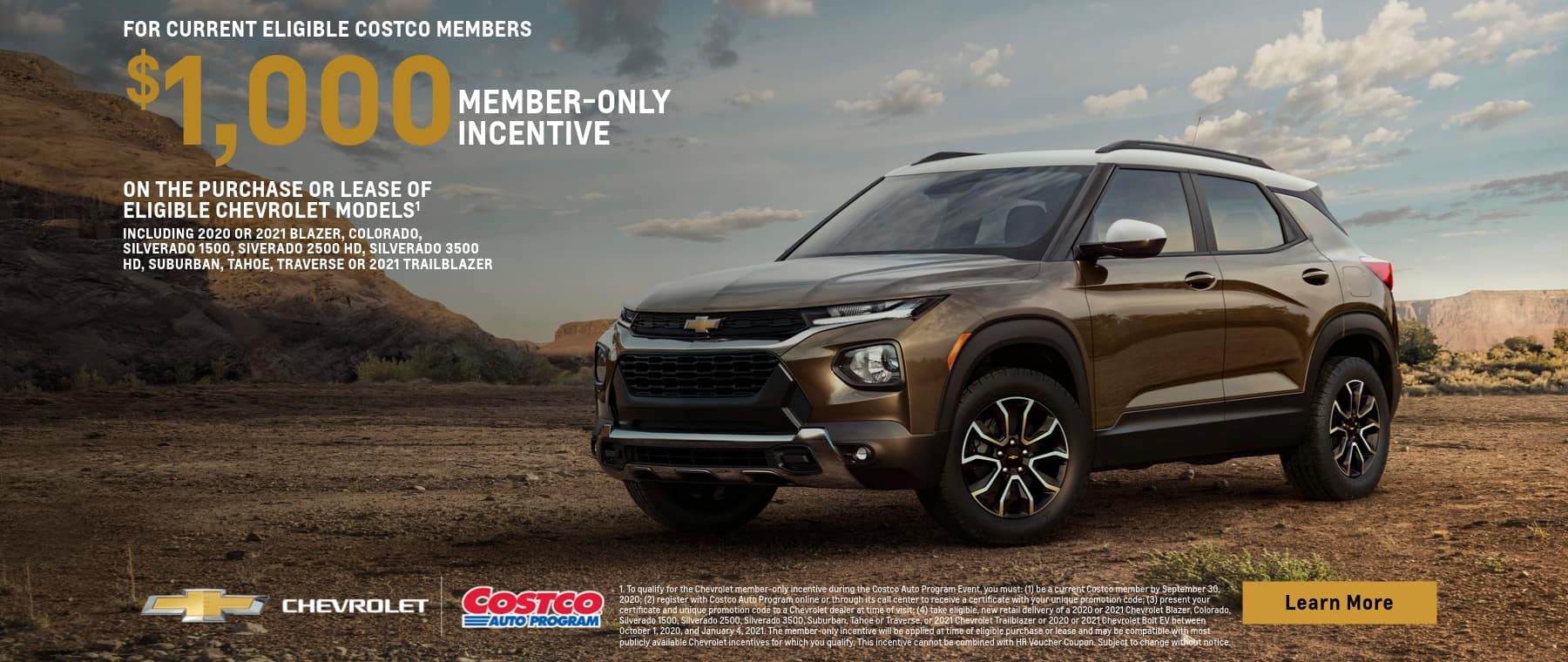 New Chevy Trailblazer Costco Rebate In Oklahoma