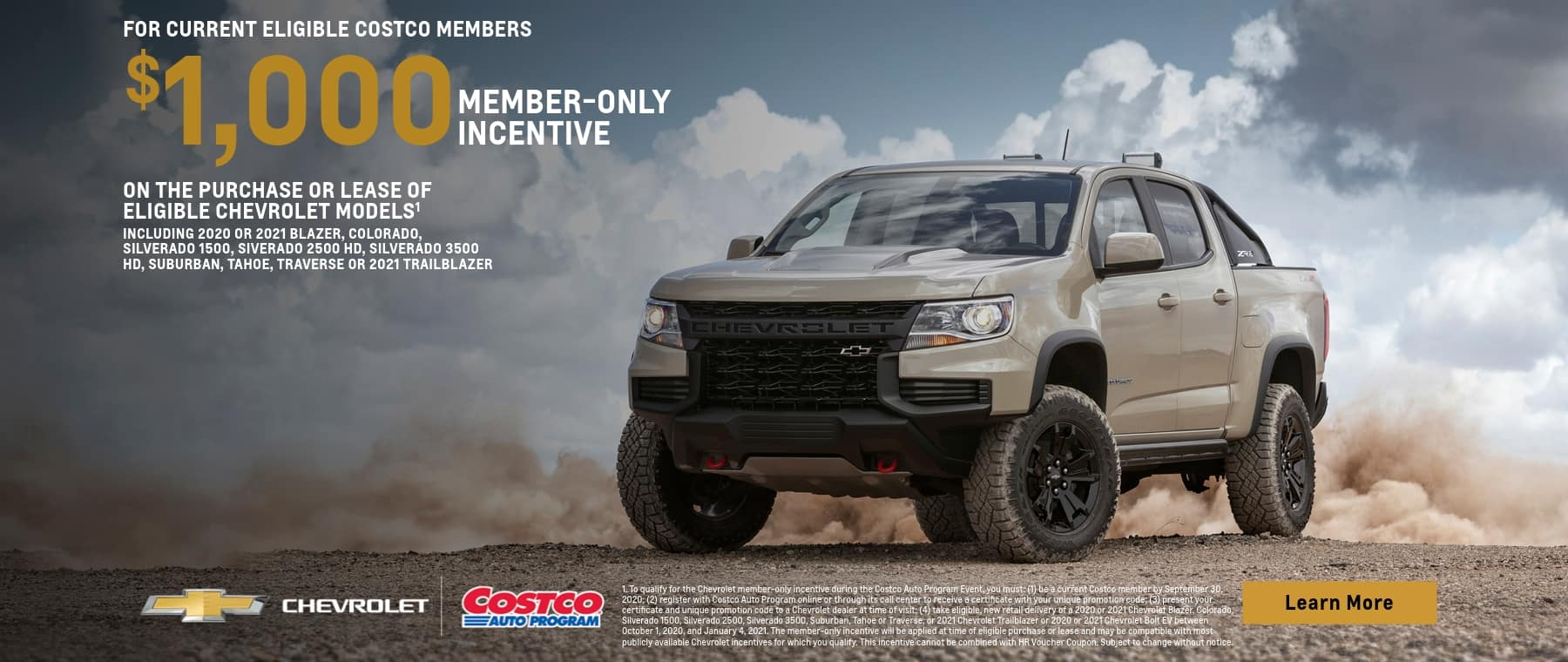 New Chevy Colorado Costco Rebate In Oklahoma