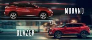 2021 Chevrolet Blazer Vs Nissan Murano   Okarche, OK