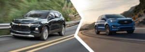 2021 Chevrolet Blazer vs Ford Edge   Okarche, OK