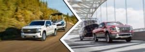 Chevrolet Silverado 1500 vs Nissan Titan | Okarche, OK