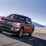 Red 2019 Ford F-150
