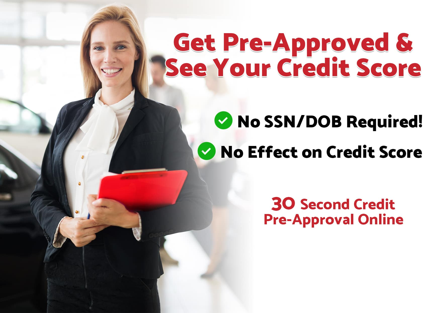 Bad Credit Pre Approval