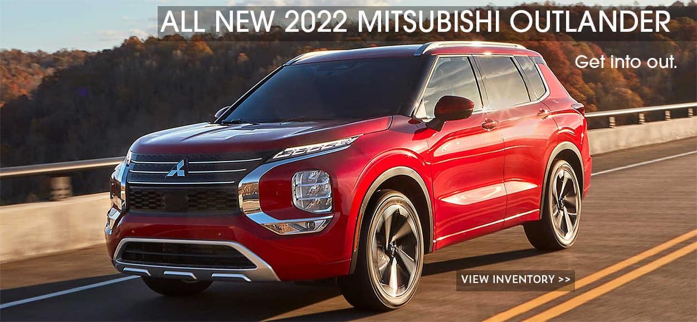 2022 Mitsubishi Outlander shown.