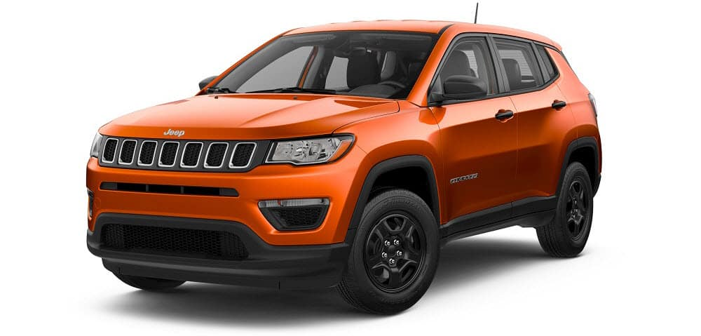 2018 Jeep Compass Orange