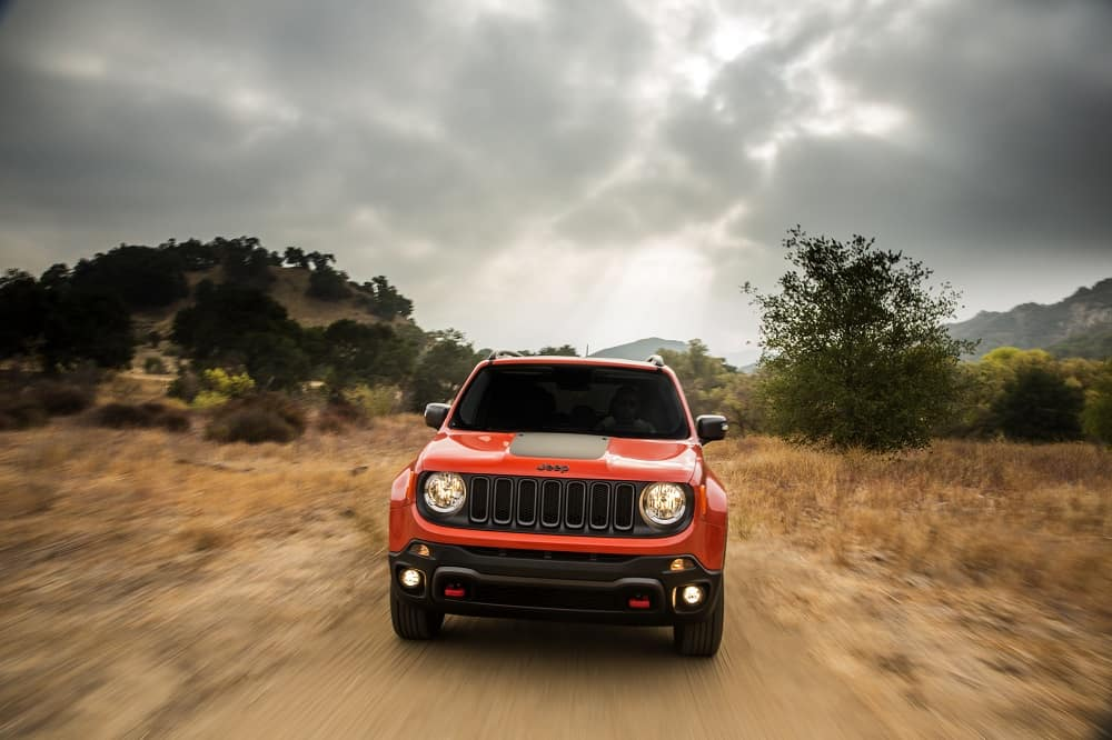 2018 Jeep Renegade Red