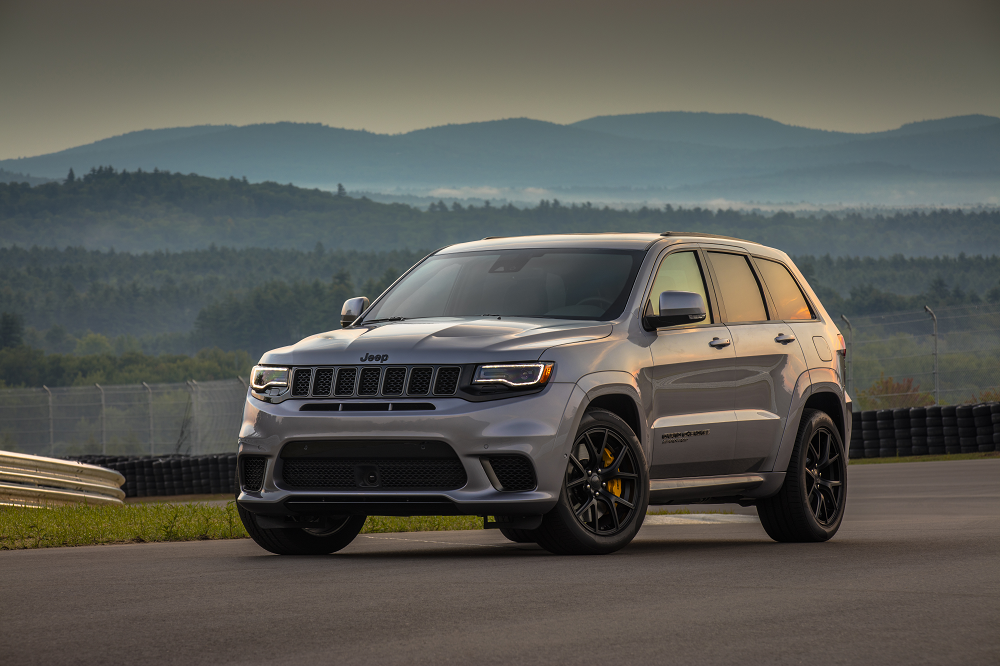 2018 Jeep Grand Cherokee Off-Roading