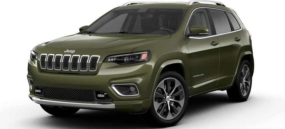 2019 Jeep Cherokee Olive Green