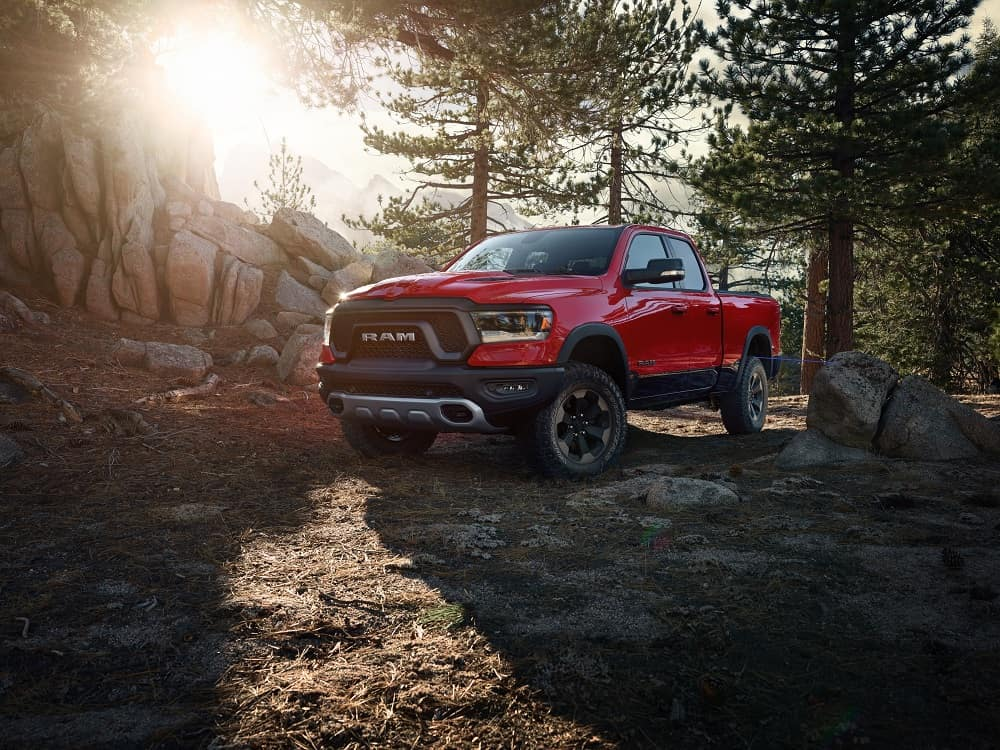 2019 Ram 1500 Flame Red