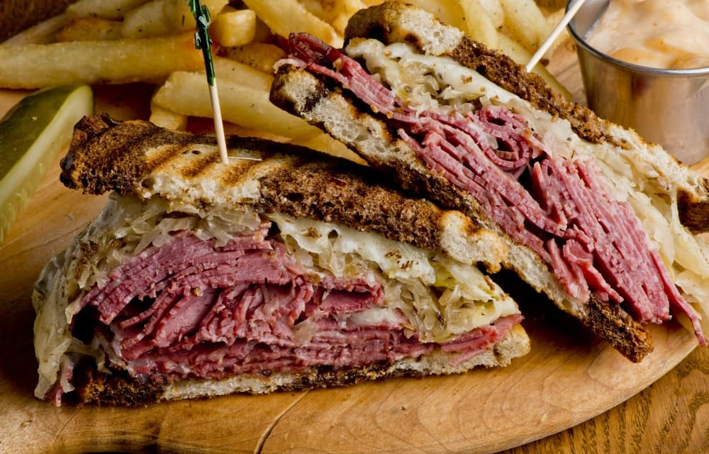 Reuben Sandwich near Brockton, MA