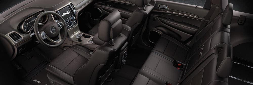 2019 Jeep Grand Cherokee Black Interior Design