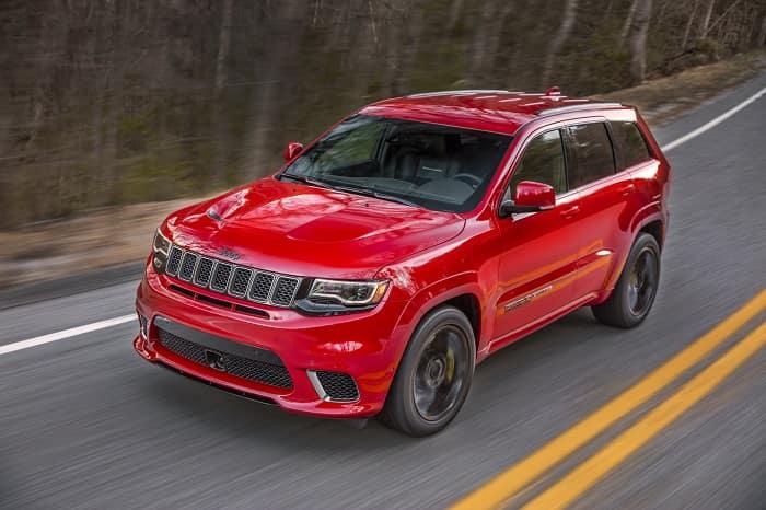 2019 Jeep Grand Cherokee Redline Red