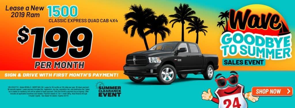 2019 RAM 1500 CLASSIC EXPRESS QUAD CAB® 4X4 6'4