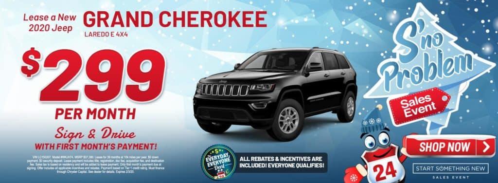 New 2020 Jeep Grand Cherokee Laredo E 4X4