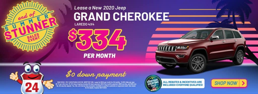 NEW 2020 JEEP GRAND CHEROKEE LAREDO 4X4