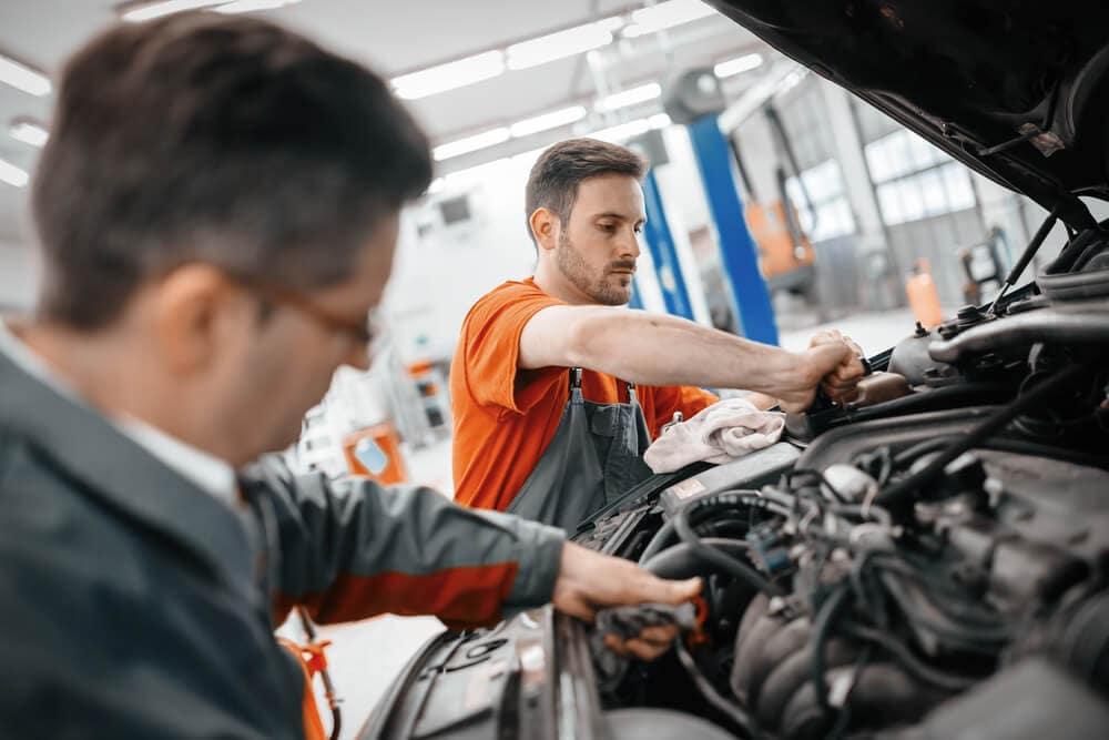 Automotive Repair at Service Center