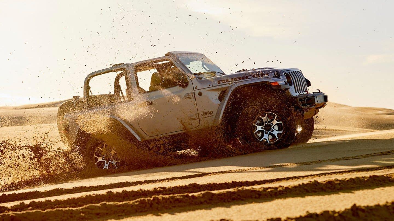 Jeep Wrangler Rubicon near Los Angeles
