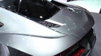 Acura NSX Concept Rear Shanghai 2013