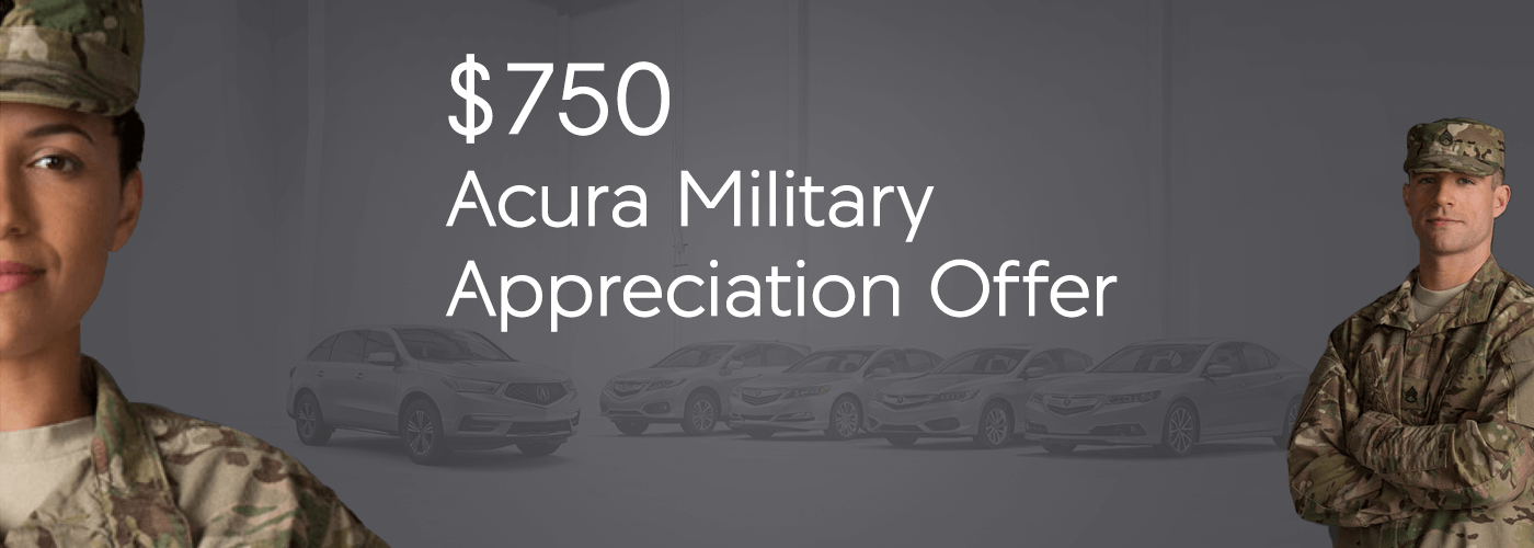 Chicagoland Acura Military Appreciation Offer