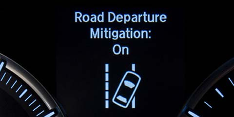 TLX Road Departure Mitigation