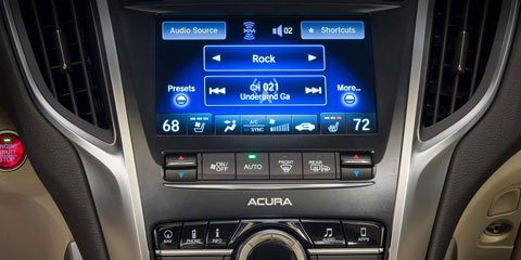 2016 Acura TLX Audio