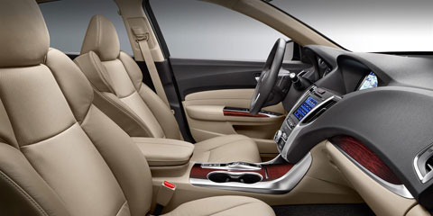 2016 Acura TLX Front Seating