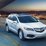 2017 Acura RDX White Exterior Sunset