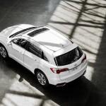 2017 Acura RDX White Exterior Overhead