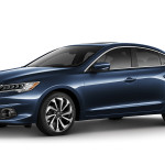 2017 Acura ILX Exterior Front Blue