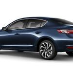 2017 Acura ILX Exterior Rear Blue