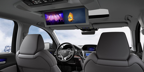 2017 Acura MDX Rear Entertainment System