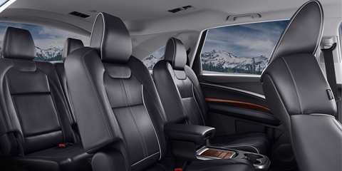 2017 Acura MDX Third Row Seating