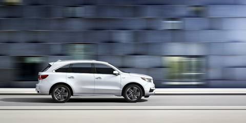 2017 Acura MDX Integrated Dynamics Systems