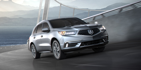 2017 Acura MDX Super Handling All-Wheel Drive