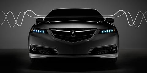 2017 Acura TLX active sound control