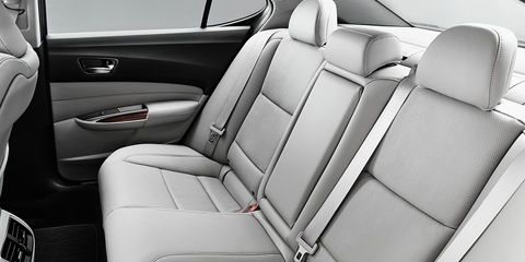 2017 Acura TLX Backseat