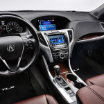 2017 Acura TLX Front Cabin