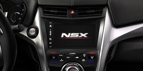 2017 Acura NSX Display Audio Touchscreen