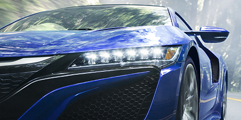 2017 Acura NSX Jewel Eye LED Headlights