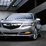 2017 Acura RLX Exterior Front Angle