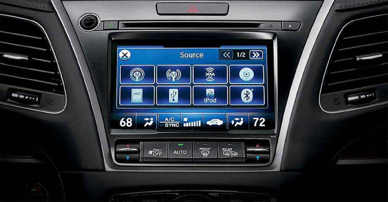 2017 Acura RLX On Demand Multi-Use Display