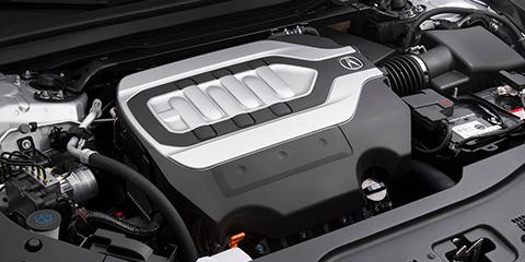 2017 Acura RLX 3.5L V6 Engine
