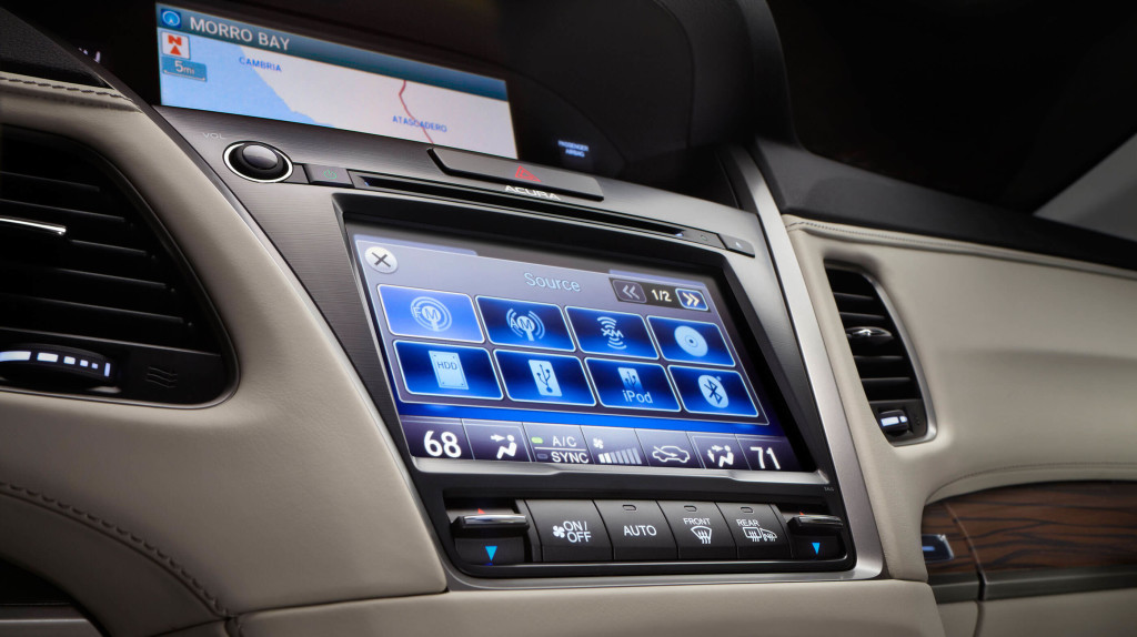 Acura RLX Display