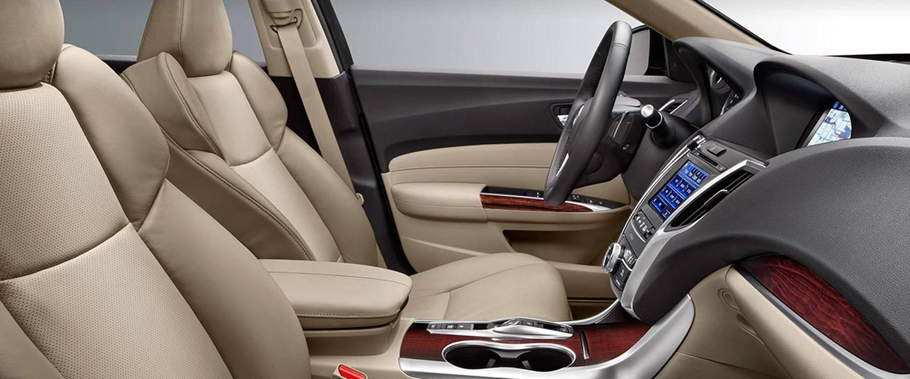 2017 Acura Tlx Interior Features Impress Chicago Drivers
