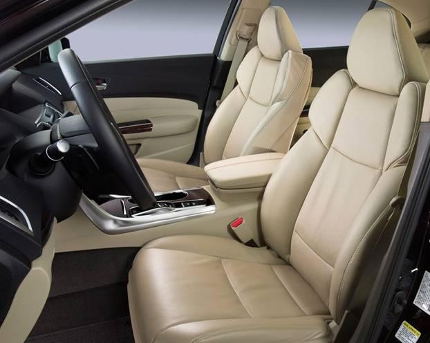 Acura TLX Front Seats