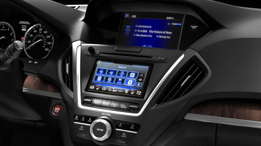 2017 Acura MDX AWD Interior Dashboard