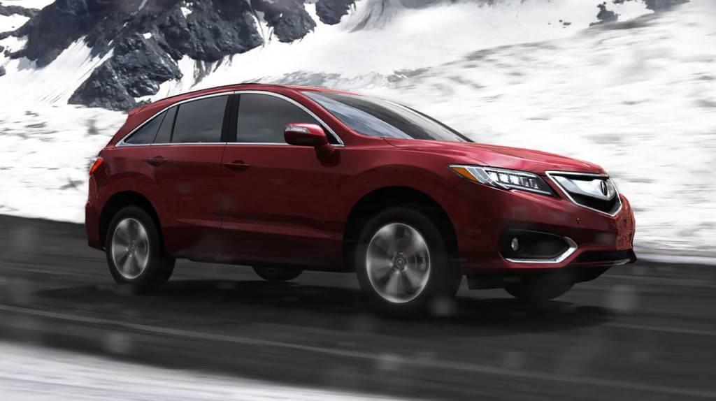 2017 Acura RDX AWD Exterior Snow Side Profile